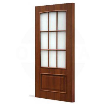 Дверной блок ламинированный со стеклом