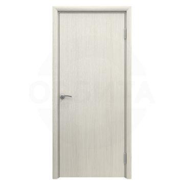 Дверь Aquadoor пластиковая гладкая Кедр белый
