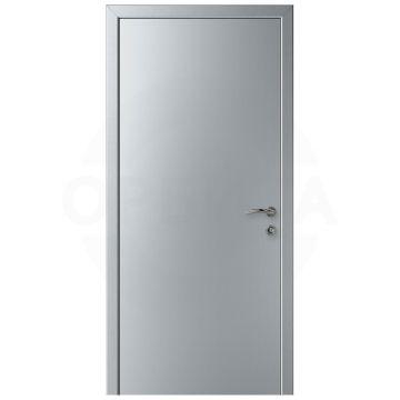 Дверь пластиковая одностворчатая KAPELLI-Classic Гладкая титан