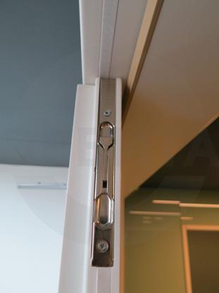 Противопожарные двери со скрытыми петлями для лифтовых холлов, с пределом огнестойкости EI-30 (30 минут), 38 Дб, RAL 9005, пр-во Forma, Россия