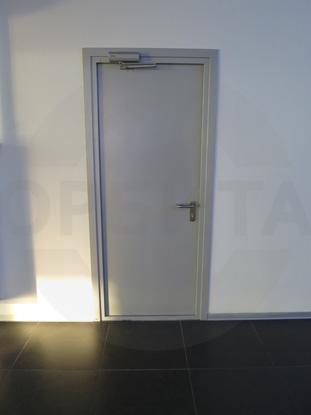 Пластиковые двери КАПЕЛЬ RAL 7035