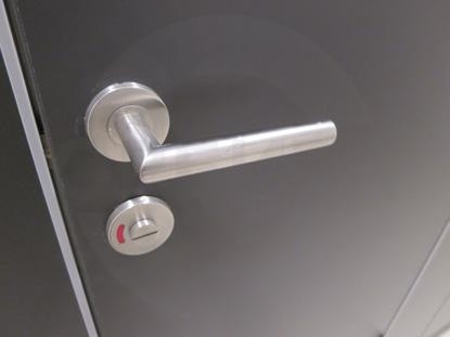 Система Ручка нажимная, с встроенным цилиндром