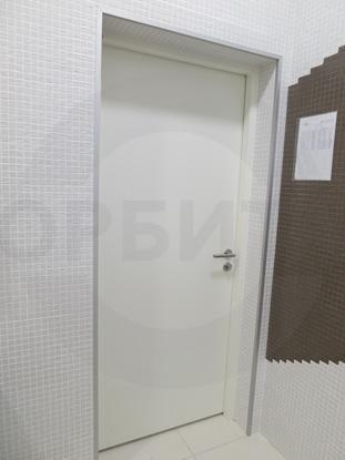 Дверь внутренняя утепленная одностворчатая противопожарная (огнестойкая) EI-60, окрашенная по RAL. Производитель: г.Казань,  Россия. Ручка нажимная, нержавеющая сталь, «HOPPE» Германия