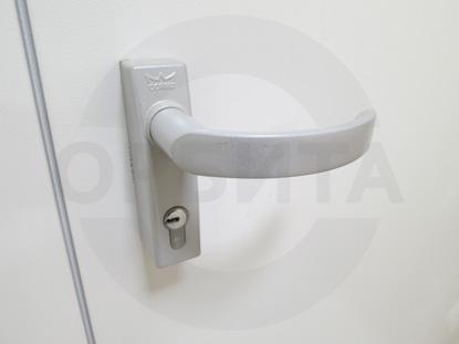 Ручка системы «Антипаника», для противопожарных дверей, со встроенным цилиндром (наружная часть, «DORMA» Германия