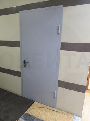 Дверь металлическая противопожарная (огнестойкая), EI 60. Цвет RAL 7035. Производство: г.Клин, Россия