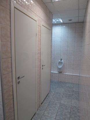 Двери окрашенные белые облегчённые (финского типа). Производитель: «Д.Крафт», Россия. Фурнитура для санузлов, цвет – матовый Хром. Производитель: «Doorlock», Россия