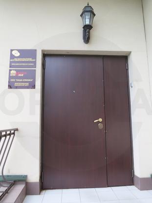 Входные металлические двери CPL Темный Дуглас