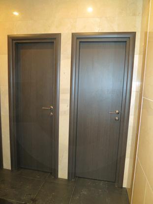Сантехнические двери с меламиновым покрытием. Верда, Россия.