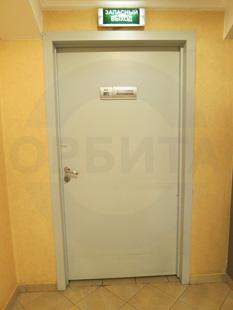 Противопожарная металлическая однопольная дверь EI-60. Покрытие: Окраска RAL-7035. Производство: Россия, г.Королёв