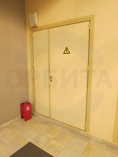 Техническая дверь с уширением из стали, производство: Эстония. Фурнитура: «ABLOY»
