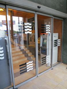 Внутренняя входная группа: Откатная Дверь – Алюминиевый Профиль – автоматика «DORMA»