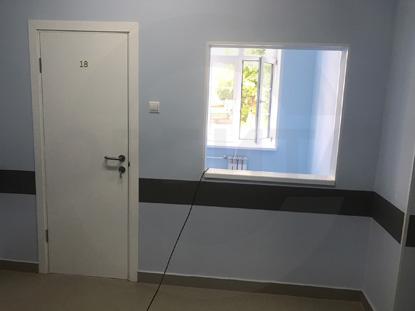 >Пластиковые влагостойкие двери Капель/Kapelli, белые