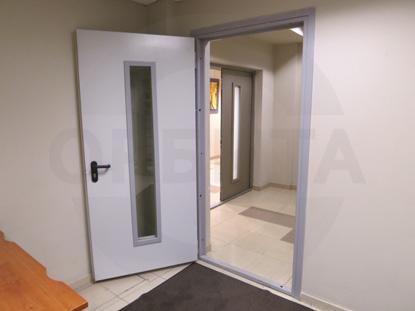Технические противопожарные двери EI-30 с остеклением, пр-во Клин