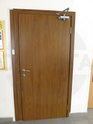 Пластиковая дверь Kapelli/КАПЕЛЬ в цвете Золотой Дуб