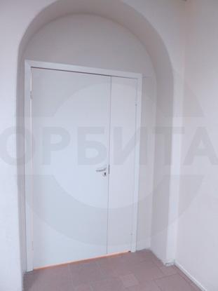 Белая ламинированная дверь без четверти, пр-во Верда