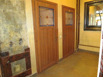 Двери пр-во Италия, массив под лаком
