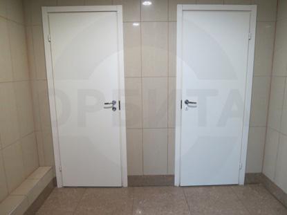 Сантехнические окрашенные двери (финского типа, облегченные). Пр-во Д.Крафт
