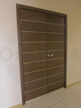 Шпонированные усиленные офисные двери, пр-во г.Ковров, Россия