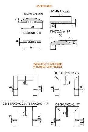 Дверные наличники - виды и варианты установки