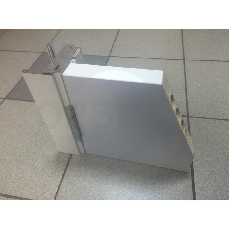 Образец дверей Kapelli с заполнением трубчатое ДСП в разрезе (11)
